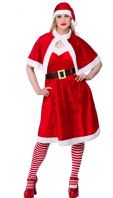 Little Miss Santa Costume (XM4527)